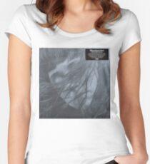 Waxahatchee - out in the storm vinyl LP sleeve art fan art Women's Fitted Scoop T-Shirt