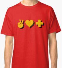 Peace, Love & Positivity - Logic Quote Classic T-Shirt