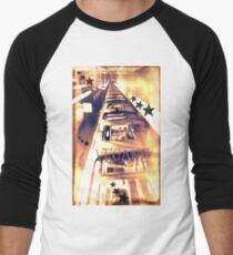 Veganemo change your vision  vegane vegetarien animals environment Men's Baseball ¾ T-Shirt