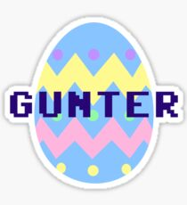Gunter Sticker