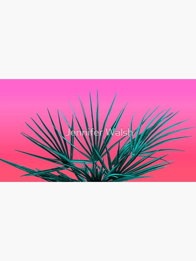 Pink Palm Life - Miami Vaporwave by InsertTitleHere