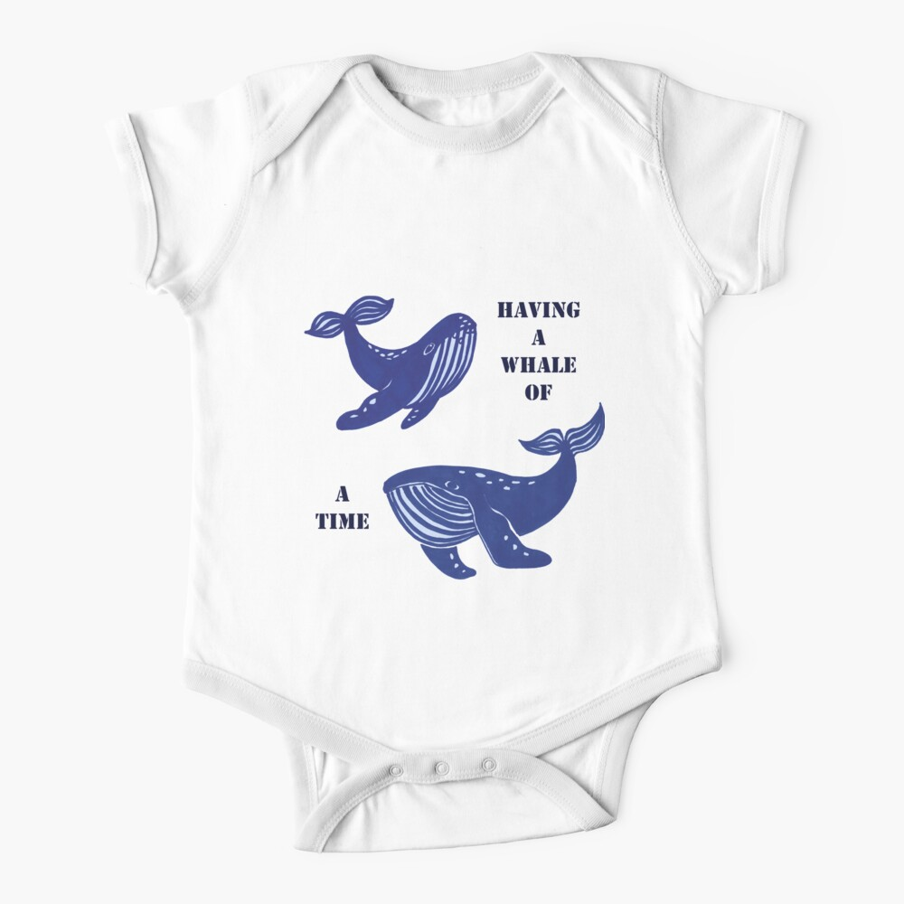 Having a whale of a time  Baby One-Piece