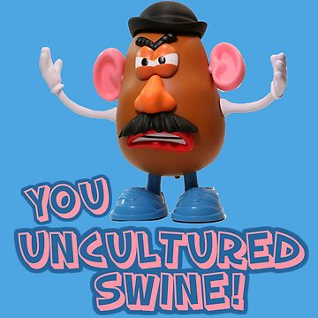 Mr Potato Head from Toy Story by normanlikescats