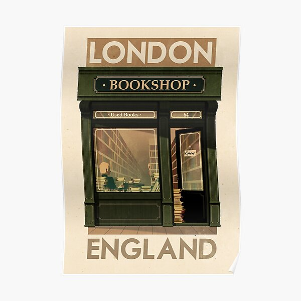Travel Poster - London England Poster