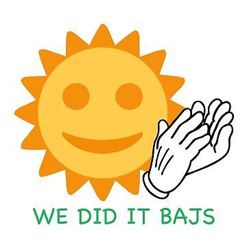 Sun with face Clap by dankshirtsstore