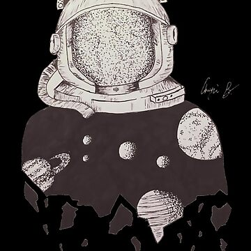 Astronaut by Angie Barreto by Susealycone