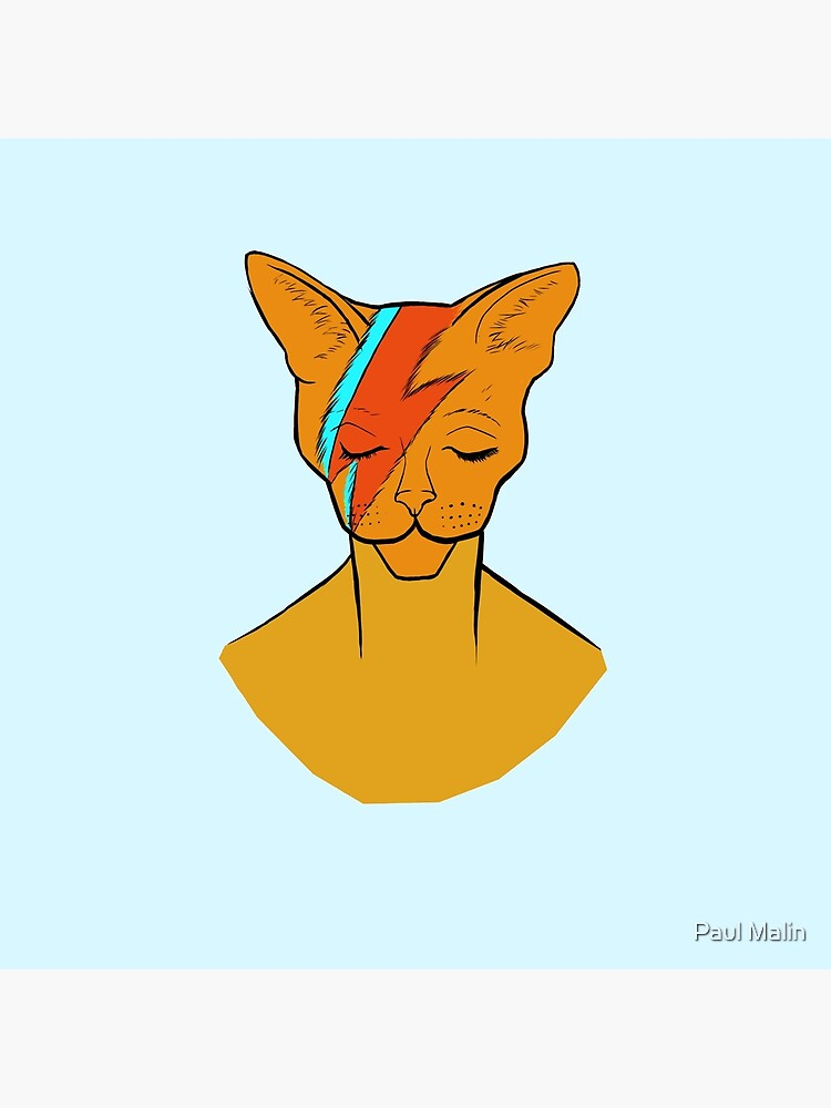 « David Bowie Cat » par Kite4