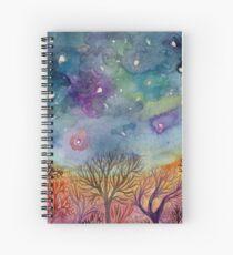 night sky mandala 2 Spiral Notebook