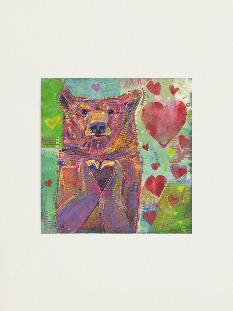 Alternate view of Share the Bear (Green) - 2014 Photographic Print