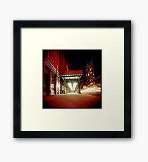 Holga Night Framed Print