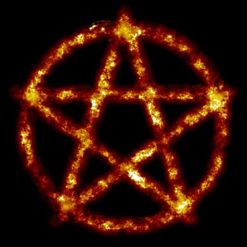 PENTAGRAM, BURNING by TOMSREDBUBBLE