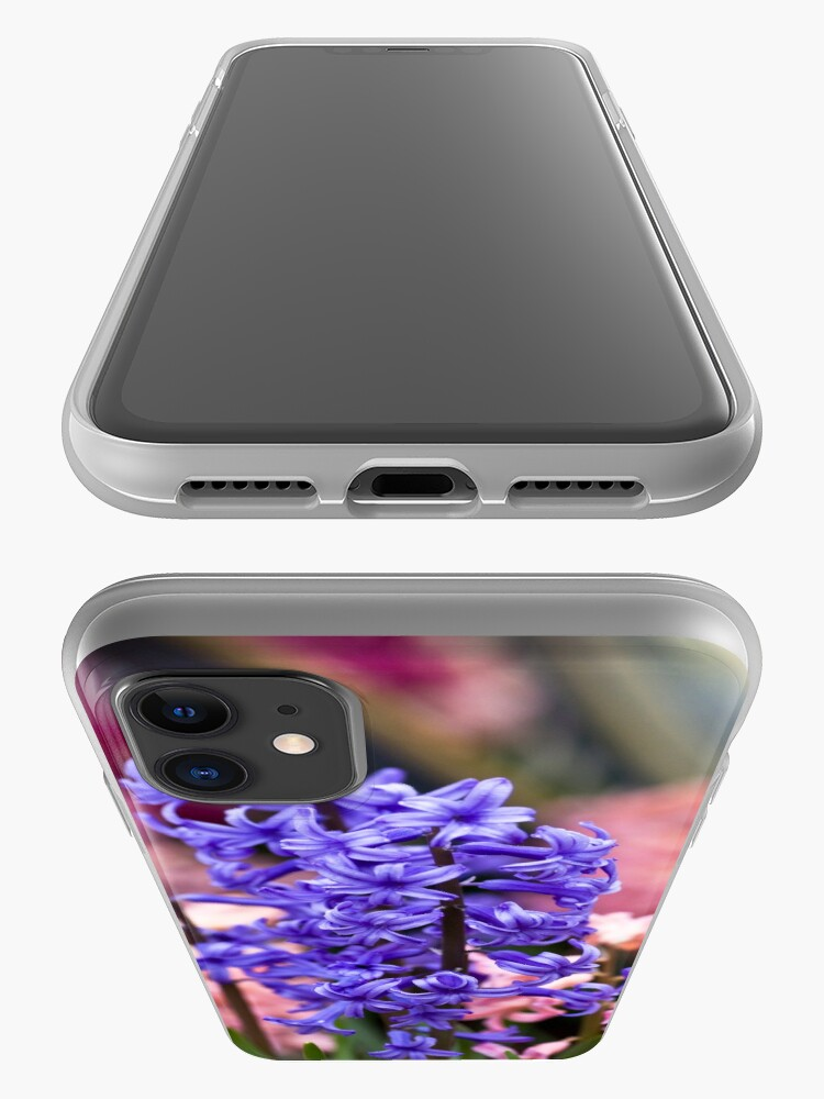 Alternate view of Hyacinth Garden iPhone Case & Cover