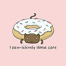 «Cat Donut - I Paw-sitively Donut Care Kitten» de Christina G. Smith