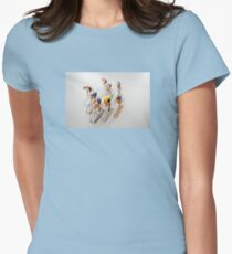 Cyclists 1 Women's Fitted T-Shirt