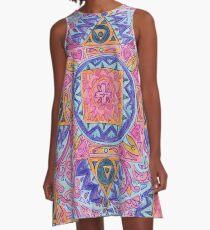 mandala 28 A-Line Dress
