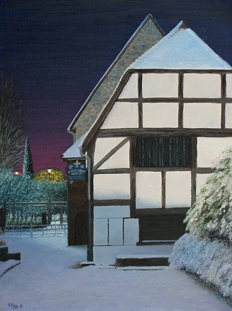 Winter dawn - King John's House by Richard Paul