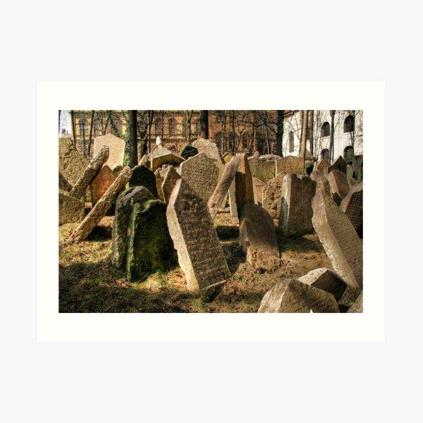 Tombstones Art Print