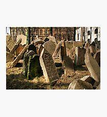 Tombstones Photographic Print
