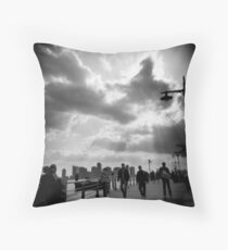 Hudson River Park, NYC Throw Pillow