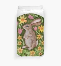 Mandala 27. Rabbit Duvet Cover