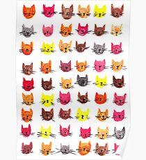 Happy kitty sad kitty Poster