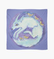 mandala- blue dog Scarf