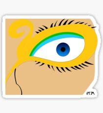 Egyptian Face Sticker
