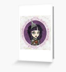 Tin Girl Greeting Card