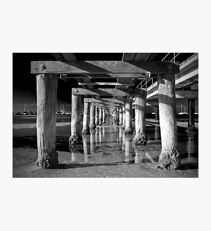 Under the Boardwalk Photographic Print