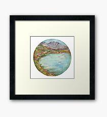 Mandala - lochview Framed Print
