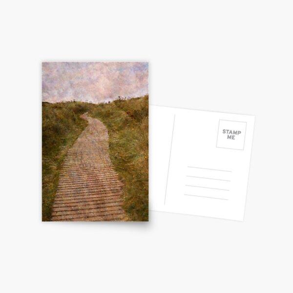 Findhorn Dunes Postcard