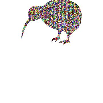 New Zealand Kiwi Bird Sprinkle Shirt   by UrbanHype
