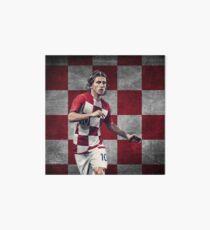 Luka Modric - Kroatien Design - Weltmeisterschaft Galeriedruck