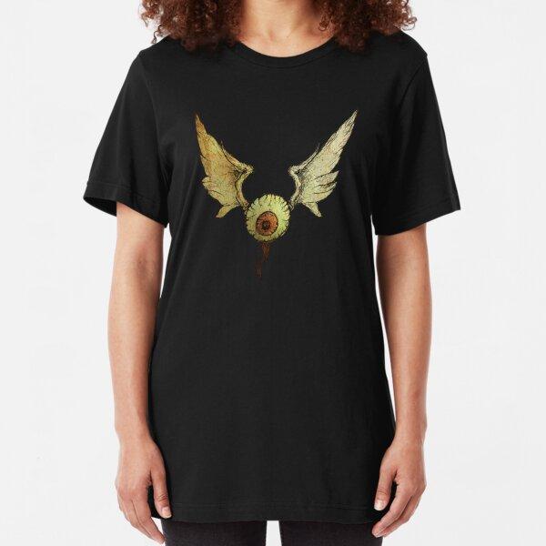 flying eyeball Slim Fit T-Shirt