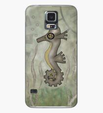 Sir Angustus Finn - Nautical Steampunk Seahorse Case/Skin for Samsung Galaxy