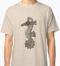 Sir Angustus Finn - Nautical Steampunk Seahorse Classic T-Shirt