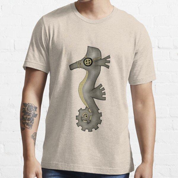 Sir Angustus Finn - Nautical Steampunk Seahorse Essential T-Shirt
