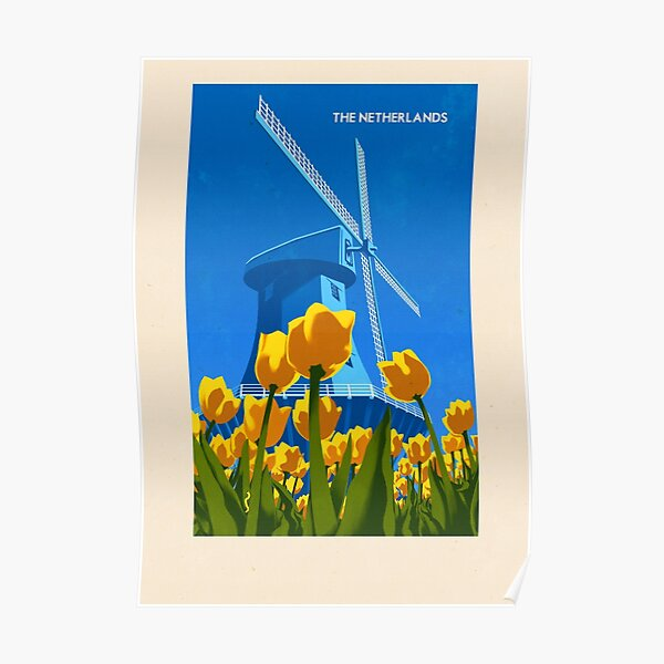 Travel Posters - The Netherlands Poster