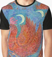 Mandala, chicken Graphic T-Shirt