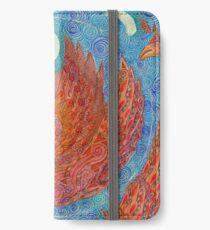 Mandala, chicken iPhone Wallet/Case/Skin