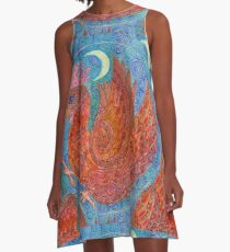 Mandala, chicken A-Line Dress