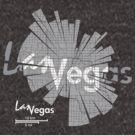 Las Vegas Karte von UrbanizedShirts