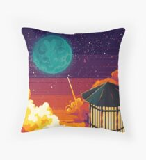 To the moon Floor Pillow