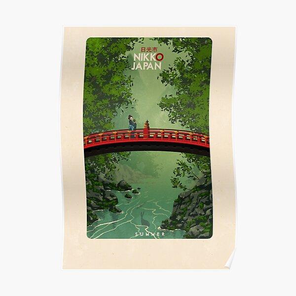 Travel Posters - Nikko Summer Japan Poster