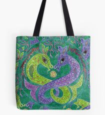 Mandala, kelpies Tote Bag