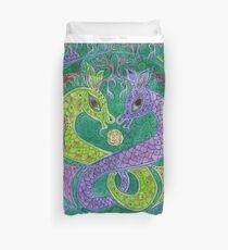 Mandala, kelpies Duvet Cover
