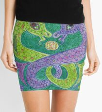 Mandala, kelpies Mini Skirt