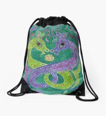 Mandala, kelpies Drawstring Bag