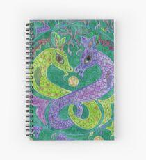 Mandala, kelpies Spiral Notebook