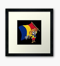 A Romanian Fan Dog Framed Print